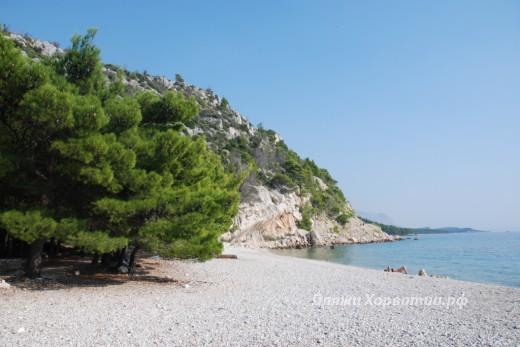 Krvavica beach