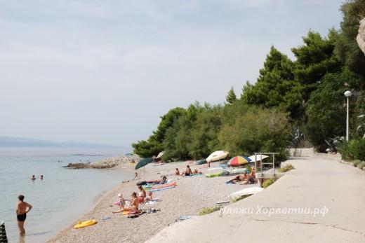 Brela Scit beach