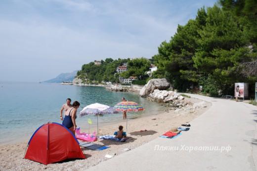 Brela Stari Porat beach