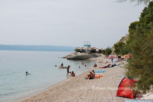 Brela Stomarica beach