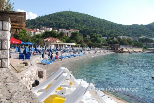 Dubrovnik Lapad beach 2