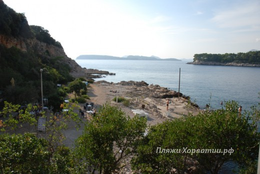 Dubrovnik beach Cava FKK