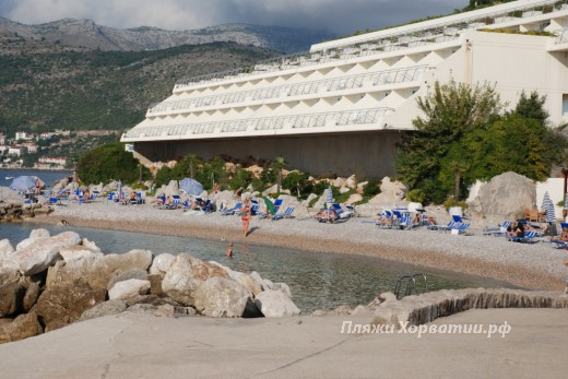 Dubrovnik beach Valamar big
