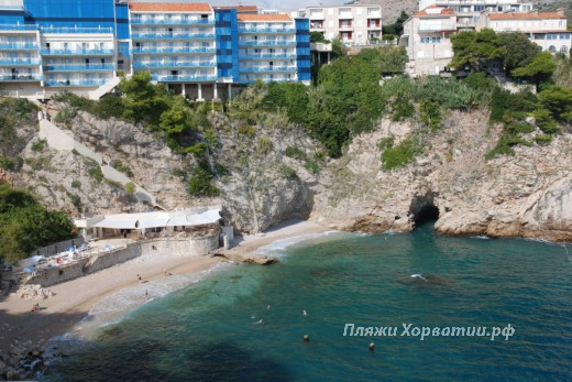 Dubrovnik beach bellevue
