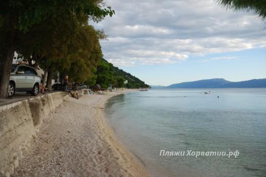 Gradac y beach