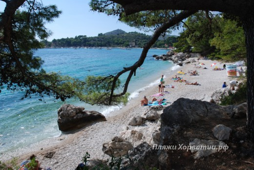 Mlini Beach Strijezice Beach view