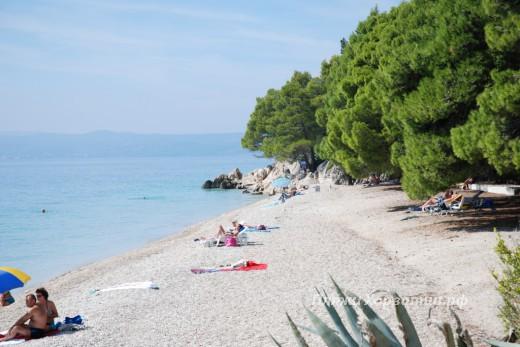 Tucepi Jadran beach