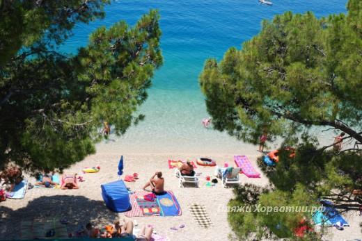 Tucepi Kamena beach 2