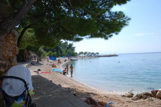 Brela Berulia beach view2