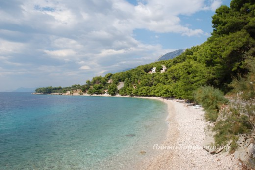 Podgora Plisivac beach