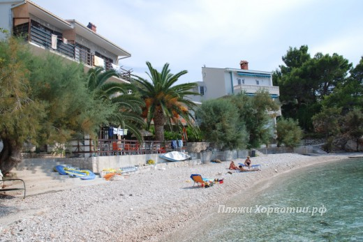 Drasnice Tila Lucice beach