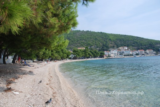 Drvenik Gornja vala beach 2