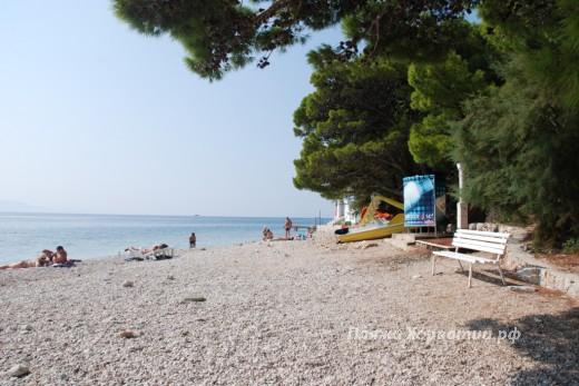Igrane Punta beach view