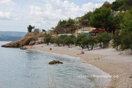 Lokva Rogoznica Sirena beach view