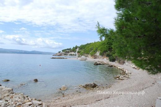Lokva Rogoznica Sirena middle beach