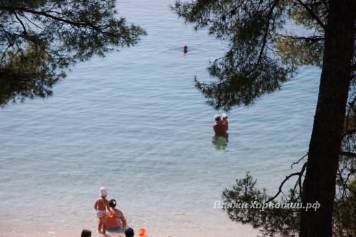 Makarska Donja Luka beach children