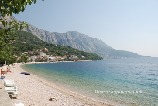 Podgora Caklje Beach view