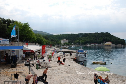 Selce Slana bay beach