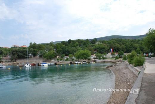 Selce Slana bay beach - camp Slana 5