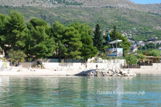 Stobrec camp beach BF