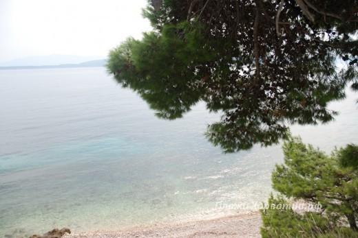 Zivogosce Mala duba main beach 2