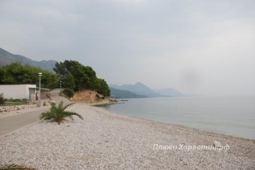 Zivogosce blato beach left marina