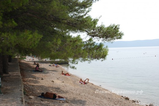 Zivogosce porat Nimfa beach