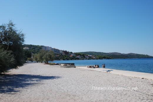 Okrug Gornji Kancelirovac beach view