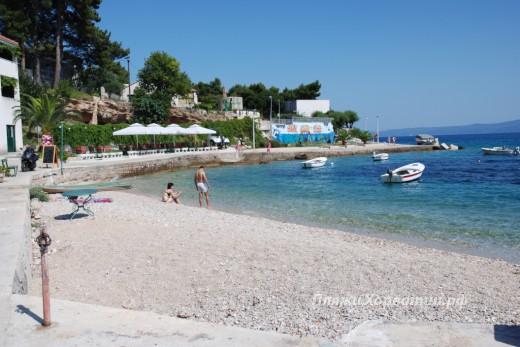 Bol small city beach
