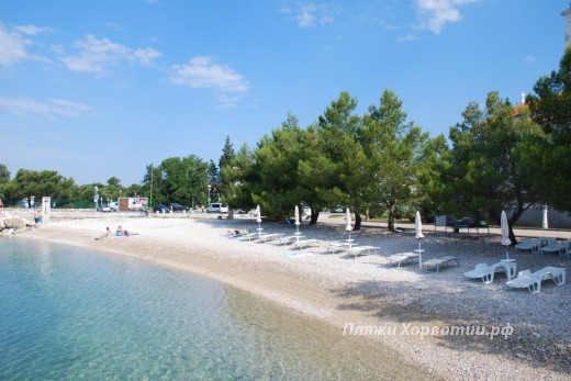 Crikvenica Kastel beach part1
