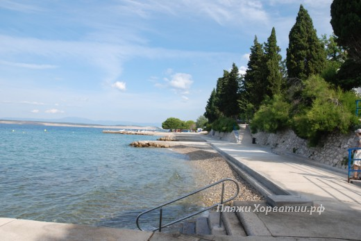 Crikvenica Mediteran beach view