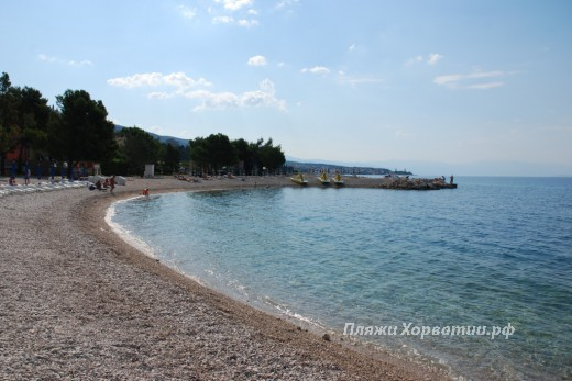 Crikvenica Podvorska beach part1
