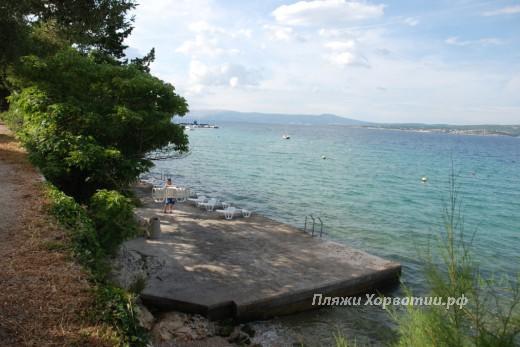 Crikvenice Villa Mare  beach
