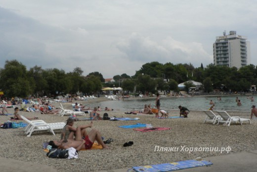 Vodice Blue beach other side