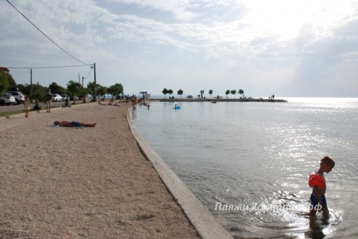 Zaton Beach Set Knez Branimira view